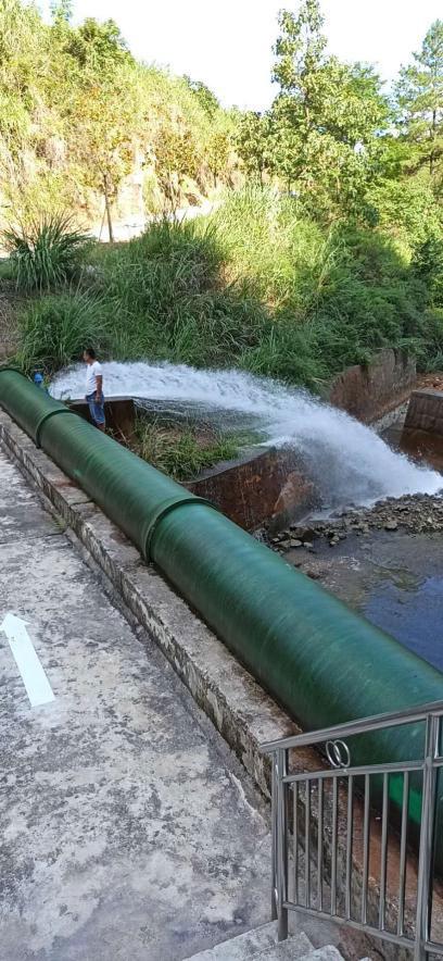 电磁流量计案例-贵州省余庆县当地水务公